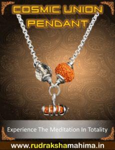 rudraksha pendant for meditation